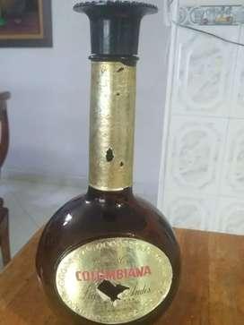Botella de colección antigua