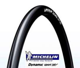 Llanta Plegable Michelin Dynamic Sport 700X25 Negra 30TPI