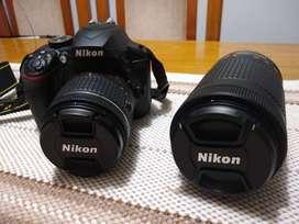 Camara NIKON D 3400