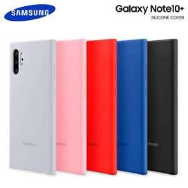 Protector Silicone Cover @ Galaxy Note 10 Plus *Case Original* Tienda