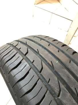 Neumatico rueda fluence continental 205 55 17