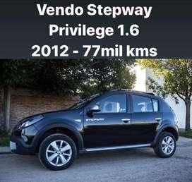 Sandero Stepway Privilege 2012 77mil kms