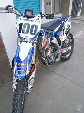 Yamaha YZ450F Año 2007 (matricula 2019)