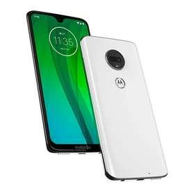 Celular Motorola Moto G7 Color Blanco