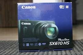Cámara Digital Canon Sx610 Hs Black 20.2 Mp 18x Wifi Full Hd
