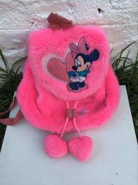 Mochila rosa de Minnie Mouse