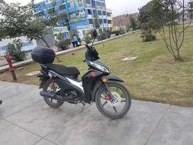 Moto honda wave