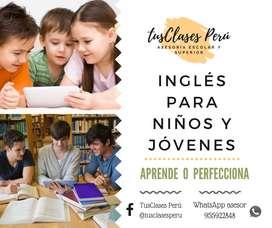 INGLES PARA NIÑOS Y JOVENES
