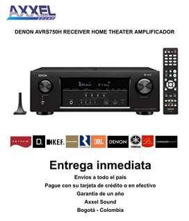 Denon Avrs750H Teatro en Casa 7.2
