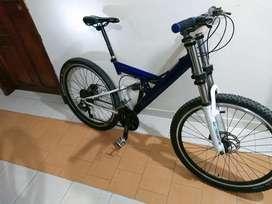 Bicicleta Doble Suspención Grupo Shimano