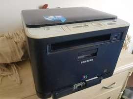 Impresora SAMSUNG CLX-3185N multifunción serie láser color