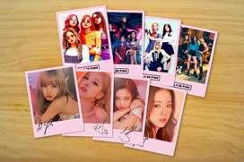 KPop Idols Fotos Polaroids Twice, BTS, Blackpink, EXO, y muchos mas!