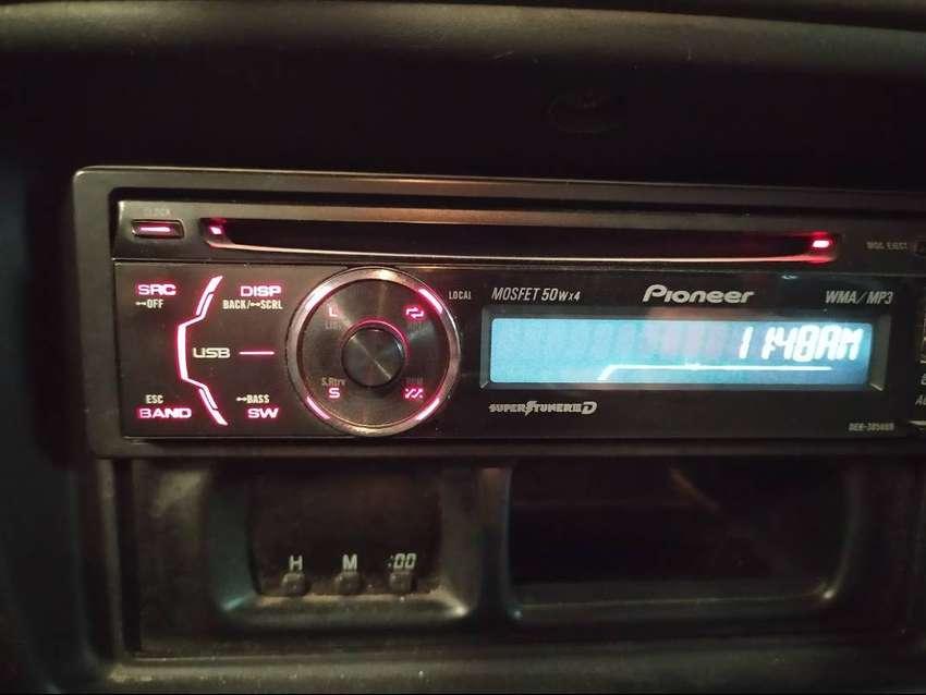 stereo pioneer deh 3050ub con control remoto 0