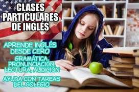 Clases Particulares De Inglés vía ZOOM