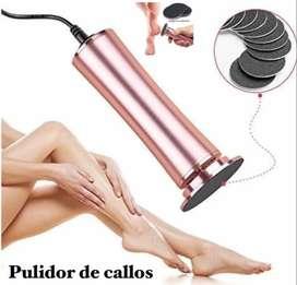 Removedor Pulidor De Callos Piel Muerta Eléctrico + Lijas