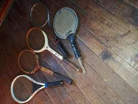 Combo raquetas vintage