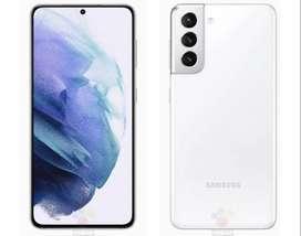 Samsung Galaxy S21Plus 5G  256 GB phantom silver 8 GB RAM + Audífonos SAMSUNG Galaxy Buds Live Blanco