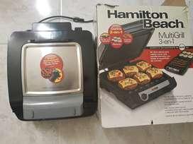 MultiGrill HamiltonBeach 3 en 1