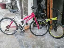 2 Bicicletas remate $140. 000.