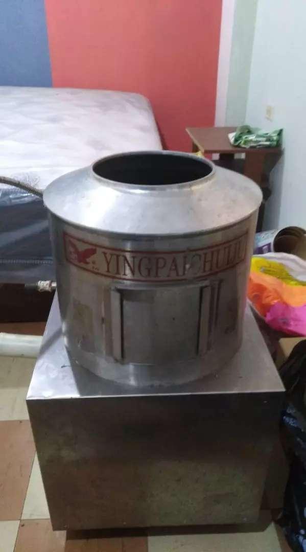 Peladora de papas industrial. 0
