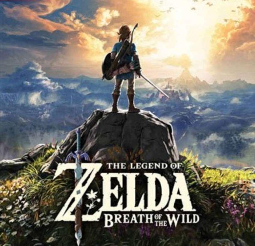 Vendo Nintendo switch con zelda 0