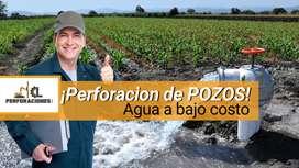 Perforaciones de POZOS DE AGUA / Pozos Tubulares / Agua a Bajo costo / Perforaciones