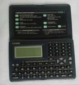 Calculadora Casio Diario Digital Sf - 3300 A 32kb