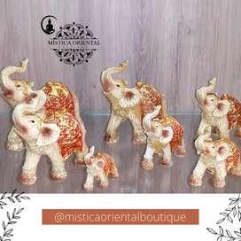 (7) Elefantes Decorativos