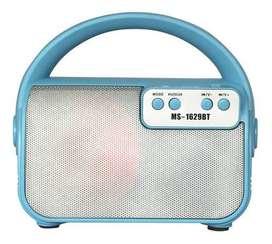 Parlante Bluetooth Portatil Recargable Radio Fm - 6 Watt