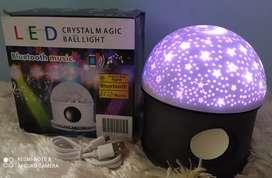 Lámpara de estrellas + Parlante Bluetooth