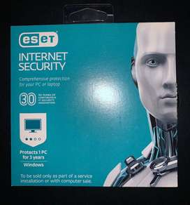 Nod 32 Eset antivirus internet Security 3 años 1 PC