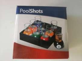 Vasos para shots con forma de bolas de billar