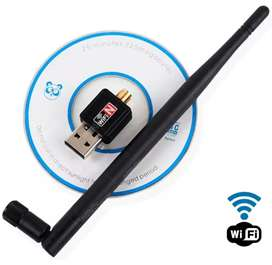 Antena Wi-Fi para PC o Portátil 600 Mbps