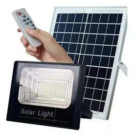 Lampara Solar Reflector 100w Led Panel