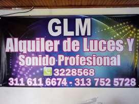 Alquiler de luces y sonido profesional