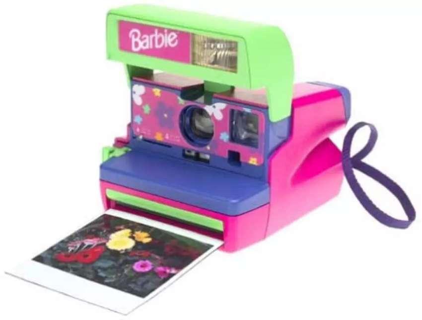 Cámara Instantánea Polaroid Barbie 600 0