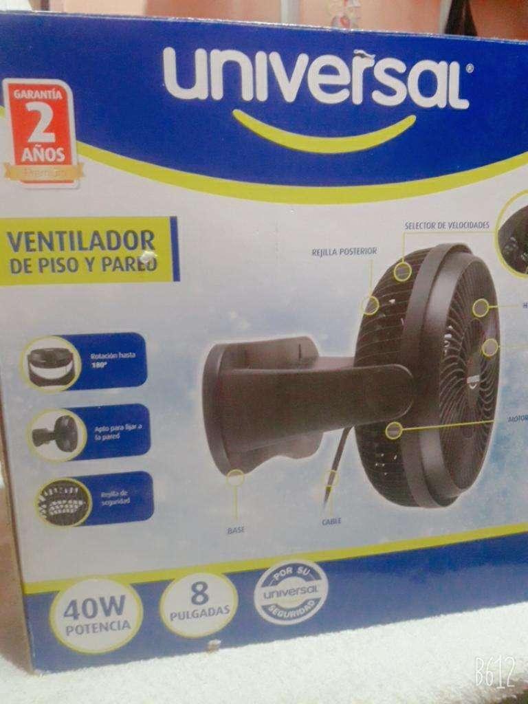 Ventilador de Piso Y Pared Universal 0