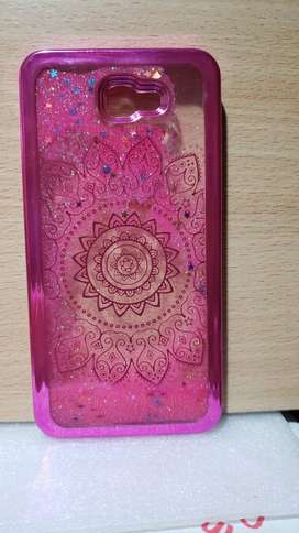 Funda Tpu Liquid Movible Brillos Glitter Samsun J7 Prime Color