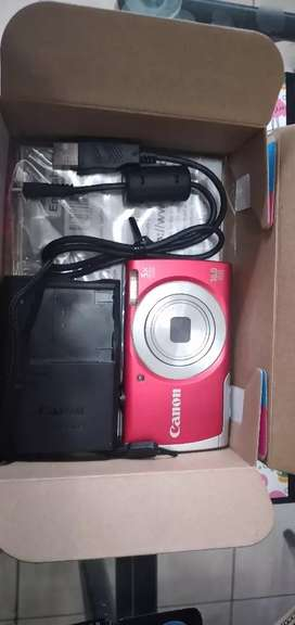 VENDO CAMARA CANON HD power shot a2500 digital camera