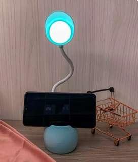 Lámpara con soporte