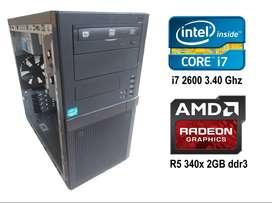 Torre - Intel-i7 – 4 0 8GB de RAM- Grafica dedicada – Gamer