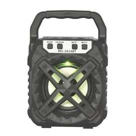 Parlante Bluetooth Portatil Recargable Con Radio FM y USB