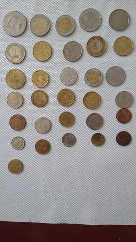 Se vende colección de monedas antiguas