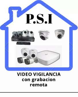 Protege tu casa o negicio kit de video vigilancia