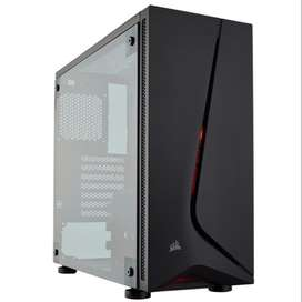 CASE CORSAIR CARBIDE SPEC 05 BK, MID TOWER, FAN, NEGRO, USB 3.0, AUDIO.
