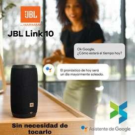 Parlante JBL LINK 10 Asistente de Google Bluetooth