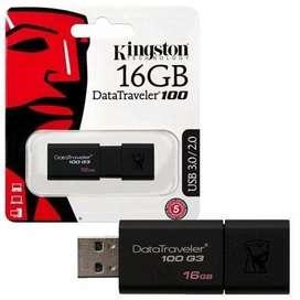 Pen Drive 16gb Kingson Dt100 G3