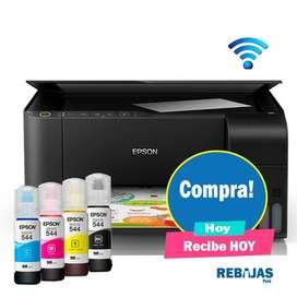 Impresora Epson L3150 impresora sistema continuo wifi imprime copia scaner garantía 2 años segunda mano  Perú