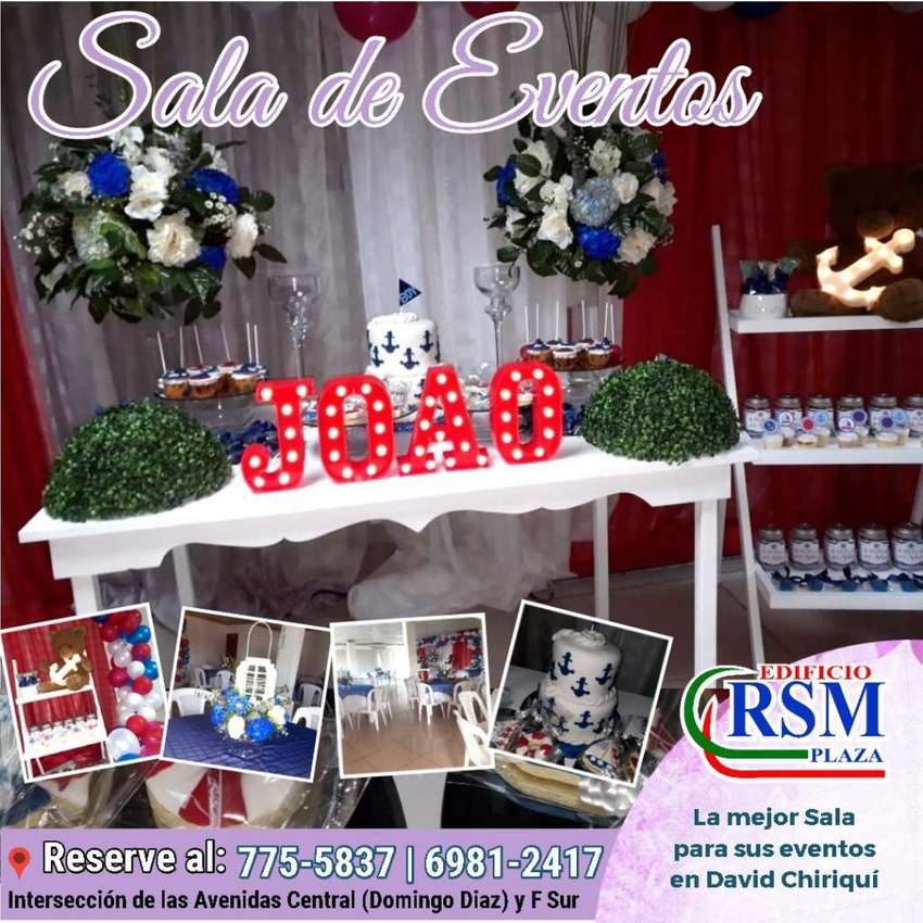 SALA DE EVENTOS -  DAVID CHIRIQUI 0