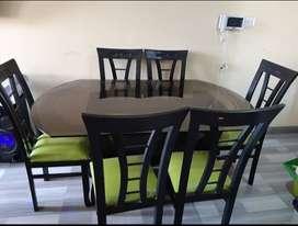 Juego comedor 6 sillas